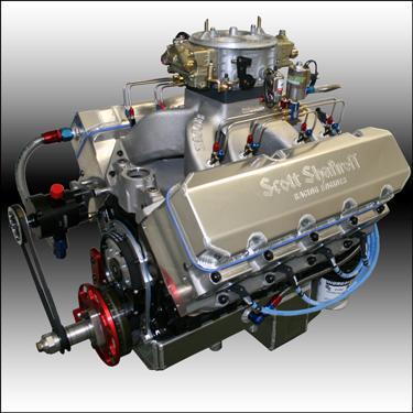 632 Big Block Chevy Nitrous Series Drag Race Engine