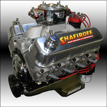 555 Big Block Chevy Drag Race Engine