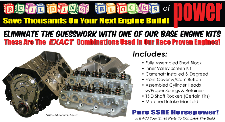 Shafiroff Racing Basic Engine Kits