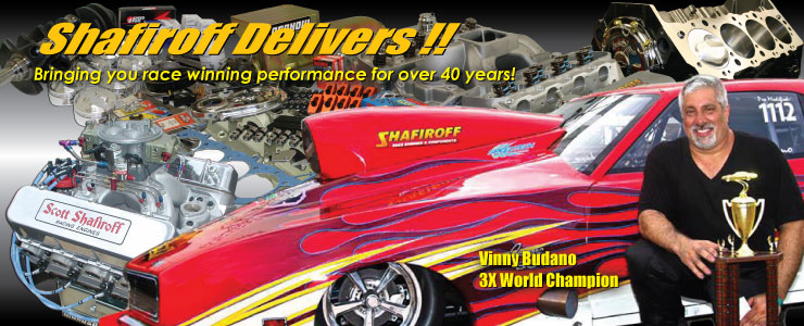 Shafiroff Racing - The Leader In Chevrolet Drag Race Engines For Over 40 Years!